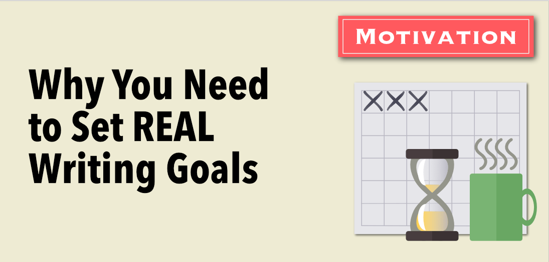 set real writing goals